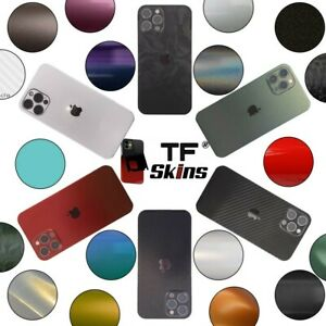 Für iPhone 12 11 X Pro MaxMini 6 7 Skin Wrap Folie Case XR Aufkleber Schutzfolie