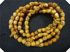 YAK BONE SKULL Prayer Beads Necklace ! Tibetan Buddhist Mala shaman Rosary 108