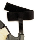 Galco ACSB Black Ankle Glove Calf Strap For Ankle Glove & Ankle Lite Holsters