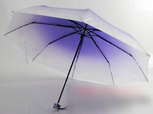 Maximum Protection Travel Umbrella, Folding Umbrella, Gradient Color Umbrella
