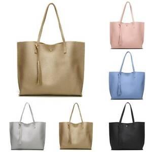 Dame Groß Handtasche Damentasche Schultertasche Shopper Tasche Bags Reisetasche
