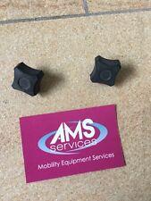 Silla de ruedas eléctrica 2 Lomax travvla la Caja de Batería/Cuna 6mm tornillos de apriete manual, piezas