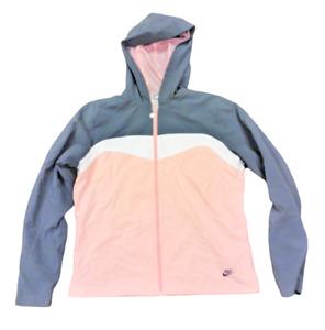 Womens Nike 227769 064 Full Zip Vintage 2007 Track Suit Pink Grey Jacket Pants
