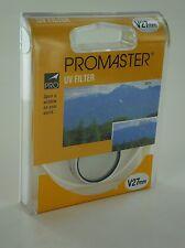 Promaster UV UltraViolet Filter V 27mm