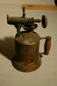 Vintage Lakeside Guaranteed Special M.W. & Co Blow Torch Brass Steampunk
