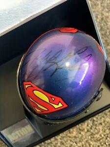 *Autographed Jeff Gordon 1999 Superman Helmet