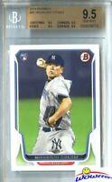 2014 Bowman #88 Masahiro Tanaka ROOKIE BGS 9.5 GEM MINT Yankees 175 Million!
