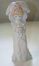 Enesco: KINKA - SPRING BRIDE - Girl in Wedding Dress, holding flowers 117536