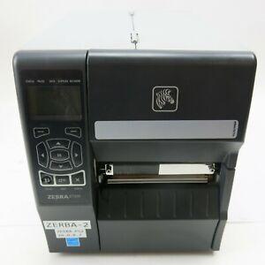 Zebra ZT230 Industrial Thermal Label Printer USB Ethernet Enabled
