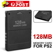 AU NEW 128MB MEMORY CARD FOR PLAYSTATION2 PS2 128M