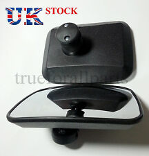 Set of 2x WIDE ANGLE MIRROR BLIND SPOT FOR TRUCK LORRY VAN BUS RECOVERY