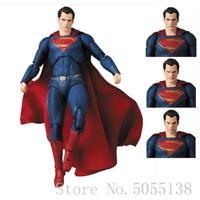 Medicom Mafex DC Comics Justice League Superman Action Figure Collectible Model