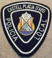 Castell-Platja d'Aro Spain Policia Police Patch