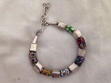 Baku Sterling Silver Bracelet/ Trading Beads