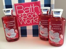 Bath & Body Works Japanese Cherry Blossom Shower Gel X 3