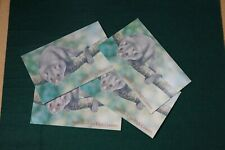 AUSTRALIA 1990 STAMP PRESENTATION PACK Lot of 4: ANIMALS OF THE HIGH COUNTRY