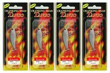"""(4) Lucky Craft Made JAPAN Cranking Shad Tango 45S 1 3/4"""" Crankbaits Wakasagi"""