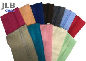 Linge de toilette - Serviettes - Draps de bain 100% Coton 4 tailles 12 couleurs