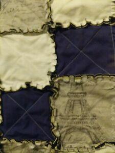 Handmade King Size Rag Quilt