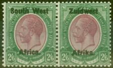 More details for s.w.a 1923 2s6d purple & green sg24 setting iii v.fine lightly mtd mint