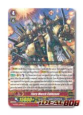 Cardfight Vanguard  x 4 Fiery March Colossus - G-BT05/040EN - R Pack Fresh Mint