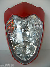Universal Motorcycle Headlight Streetfighter Custom Alien Gsx Zxr Er Cbr Sv Tl