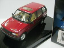 WOW EXTREMELY RARE Range Rover 4.6 HSE RHD 1999 Reg Red 1:43 Auto Art-Discovery