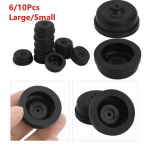 10Pcs Aquarium Diaphragm Air Pump Oxygen Pump Replacement Rubber Cup Part 2 Size