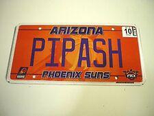 ARIZONA Phoenix Suns PIPASH [Pee-Posh INDIAN TRIBE] Custom Graphic LICENSE PLATE