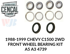 1988-1999 CHEVY GMC SUBURBAN C1500 2WD FRONT WHEEL BEARING KIT A5 A3 4739 KIT 35