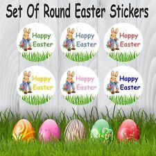 Bunny Rabbit Easter Stickers  Egg Hunt, Party Bag, Gift Bag, Boy or Girl Reward