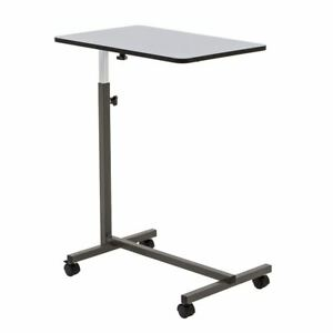 Silver Spring Tilting Overbed Rolling Table Hospital Stand Over Bed