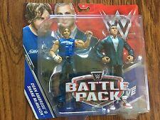 WWE Mattel Battle Packs Series 46 Shane Mcmahon & Dean Ambrose MOC NXT