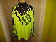 "Borussia dortmund nike manga larga Camiseta 1993/94 ""el"" continentale + nº 10 talla XL"