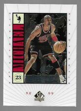 MICHAEL JORDAN 1998-99 Upper Deck SP Authentic #M10 CHICAGO BULLS