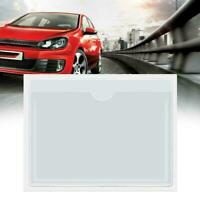 Self Adhesive Backed Windscreen Ticket Holder For Parking New 8cm Permit 10 F3F3