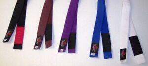NEW! Brazilian Jiu Jitsu BJJ Belt - White Blue Purple Brown Black - jujitsu mma