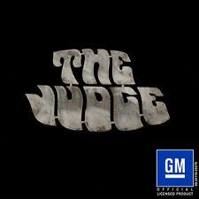 Speedcult / New Item / Gto The Judge / Metal / Sign / Gmgtoj01