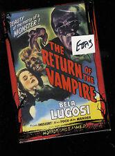 Return of the Vampire - 1943 (DVD) Bela Lugosi Nina Foch NEW / Sealed
