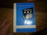 Ancien Manuel Traité d Elevage l'ABC du Chinchilla 1971 Gerhard Schreiber