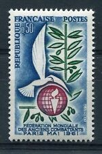 FRANCE 1961, timbre 1292, COLOMBE, ANCIENS COMBATTANTS, neuf**
