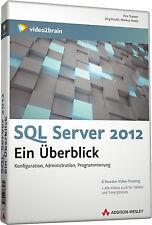 SQL Server 2012 Konfiguration, Administration, Programmierung DVD, NEU