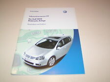 VW Golf 5 - Eléctrico Sistema - Ssp. 319 - Salida 2003