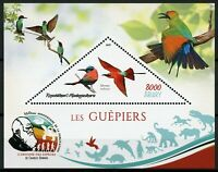 Madagascar 2019 MNH Bee-Eaters Carmine Bee-Eater 1v S/S III Birds on Stamps