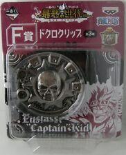 One Piece Skull Bag Belt Money Clip Eustass Captain Kid Ichiban Kuji figure