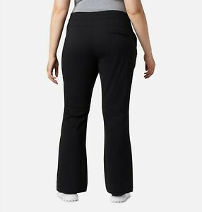 NEW $80 Columbia Anytime Outdoor Hiking Travel Boot Cut Pants Plus Size 18 W =1X