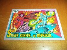 Silver Surfer vs. Mephisto # 123 - 1991 Marvel Universe Series 2 Impel Base Card