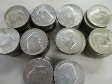 1 roll (20 pcs) 40% Silver Kennedy Half Dollars  1965 to 1969d FREE SHIPPING