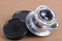 Leitz Elmar 3.5/50 mm Silver RF M39 Lens LEICA Zeiss Eleitz Wetzlar Rangefinder