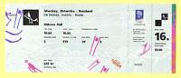 Orig.ticket   Olympic W.Games LILLEHAMMER 1994  Icehockey   AUSTRIA - RUSSIA  !!
